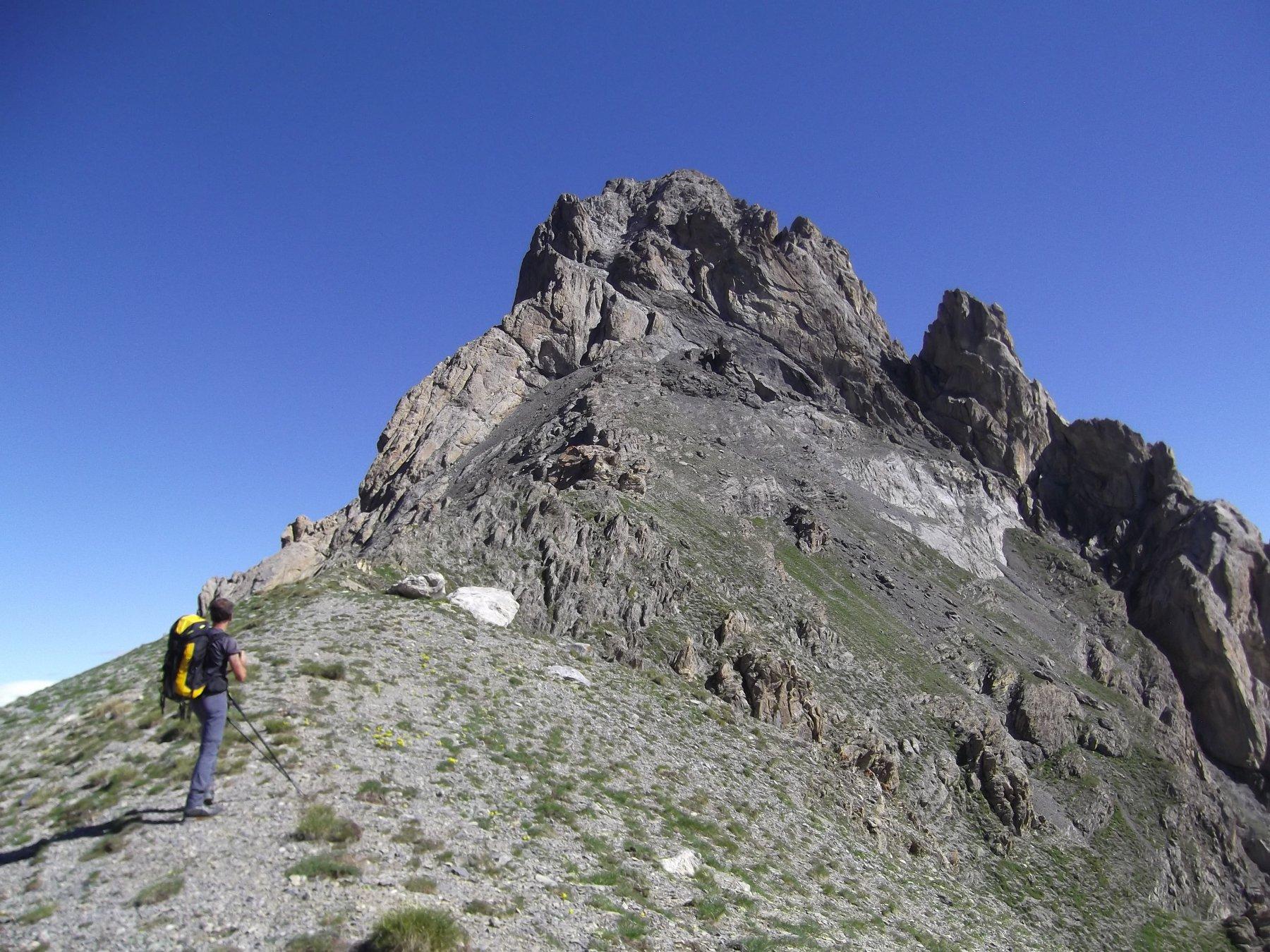 La Meyna dai pressi del Col de Viraysse.