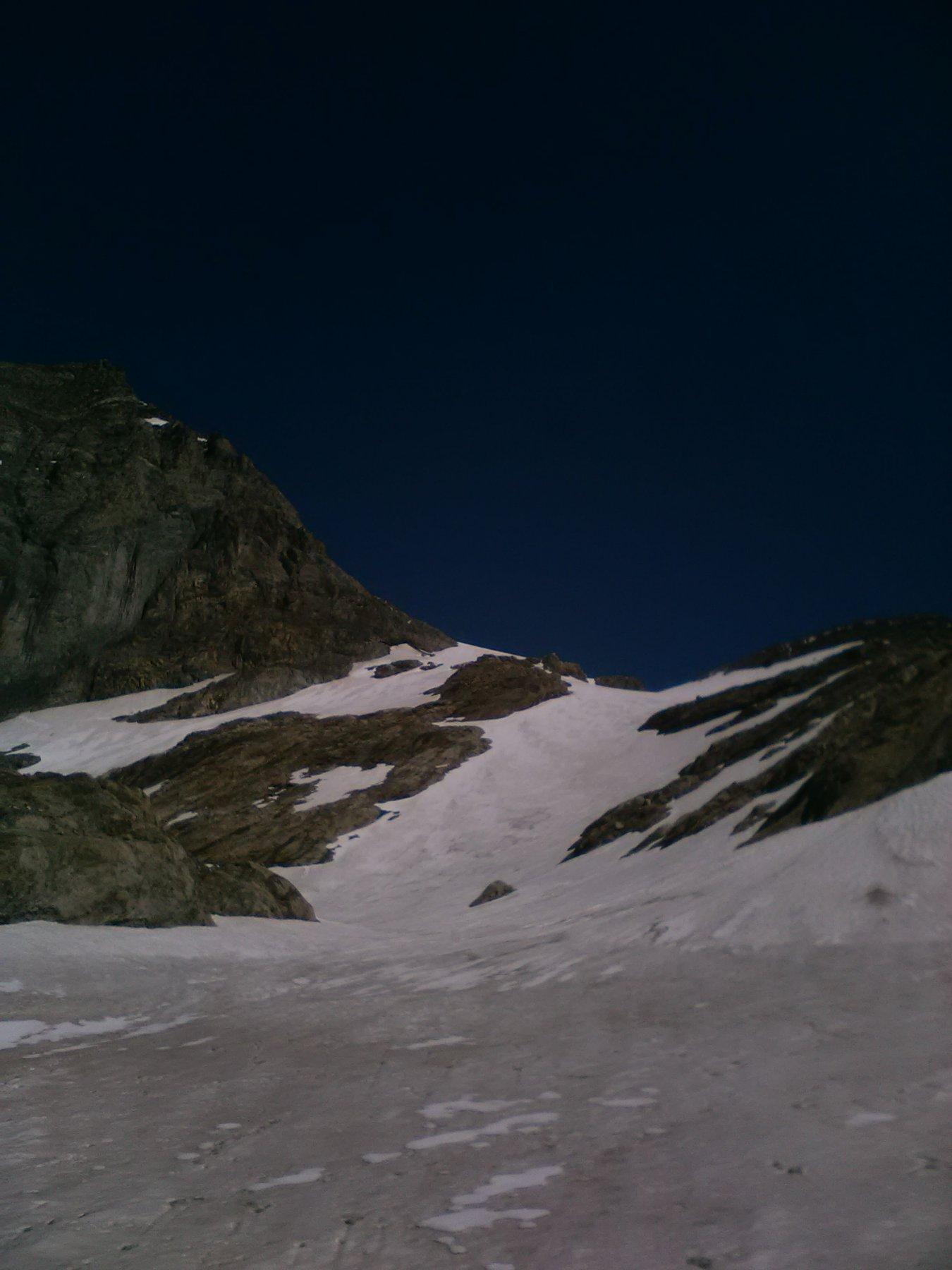lingua del ghiacciaio in ottime condizioni