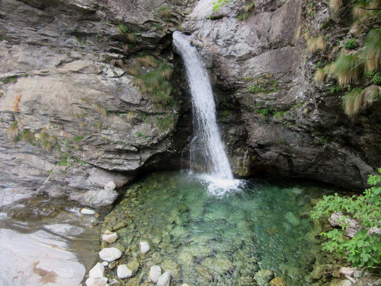 cascata di Loja Scura