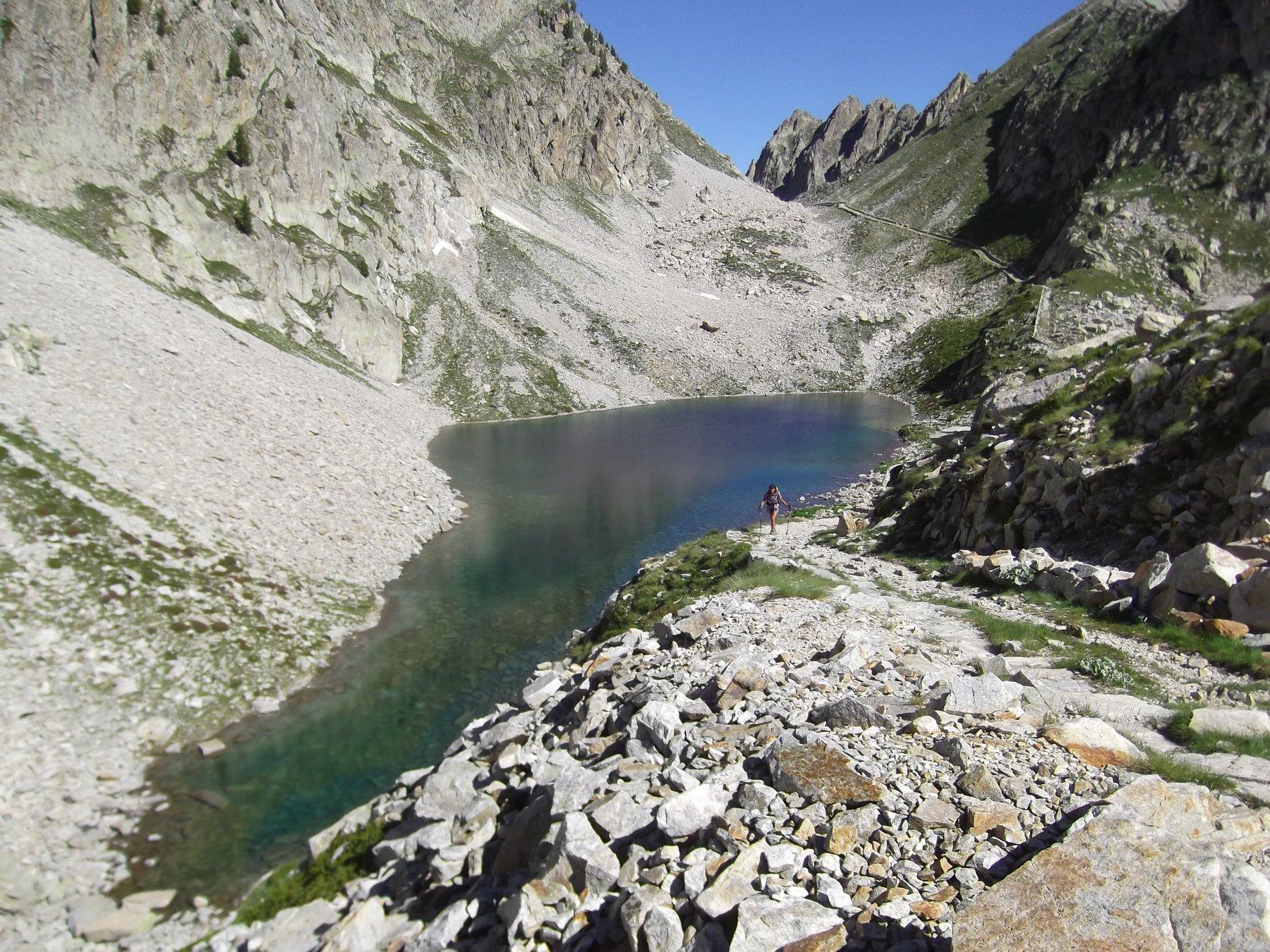 Lago inferiore di Fremamorta.