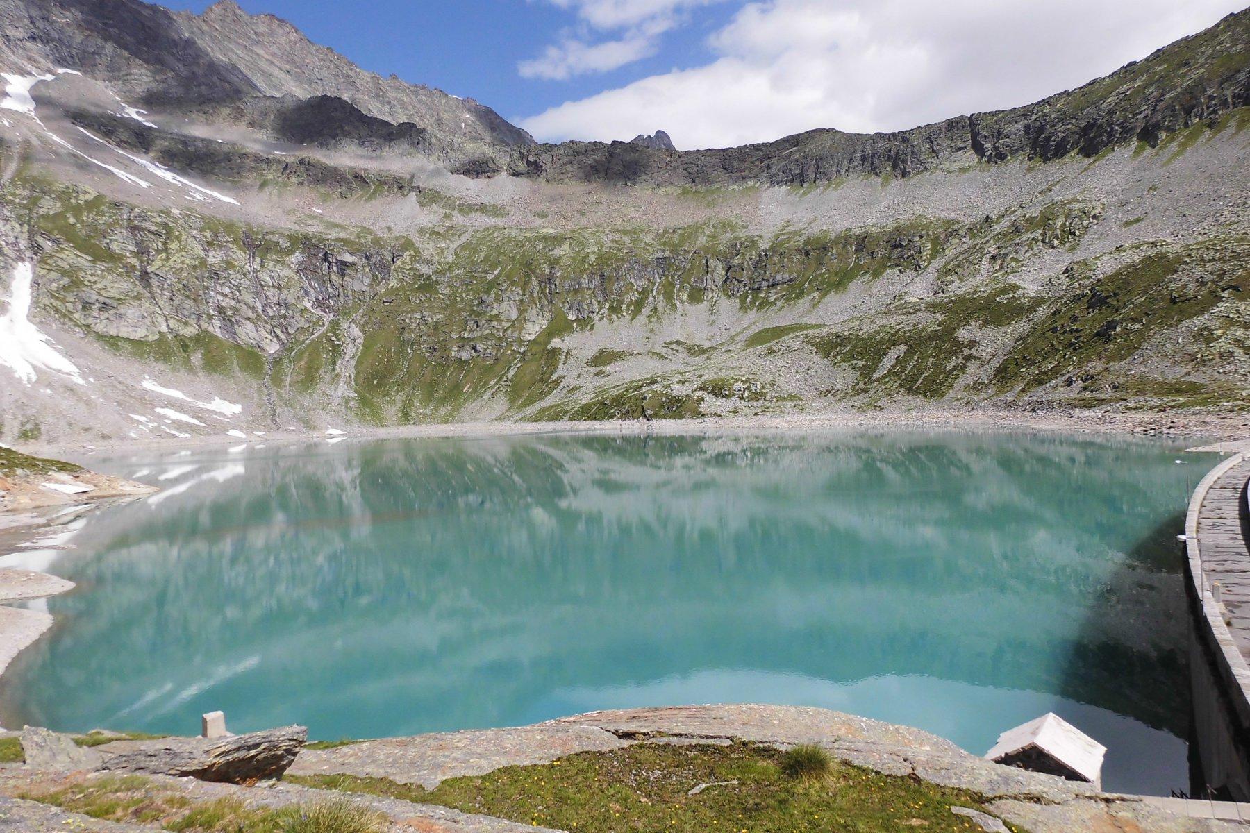 il lago bacino di Camposecco
