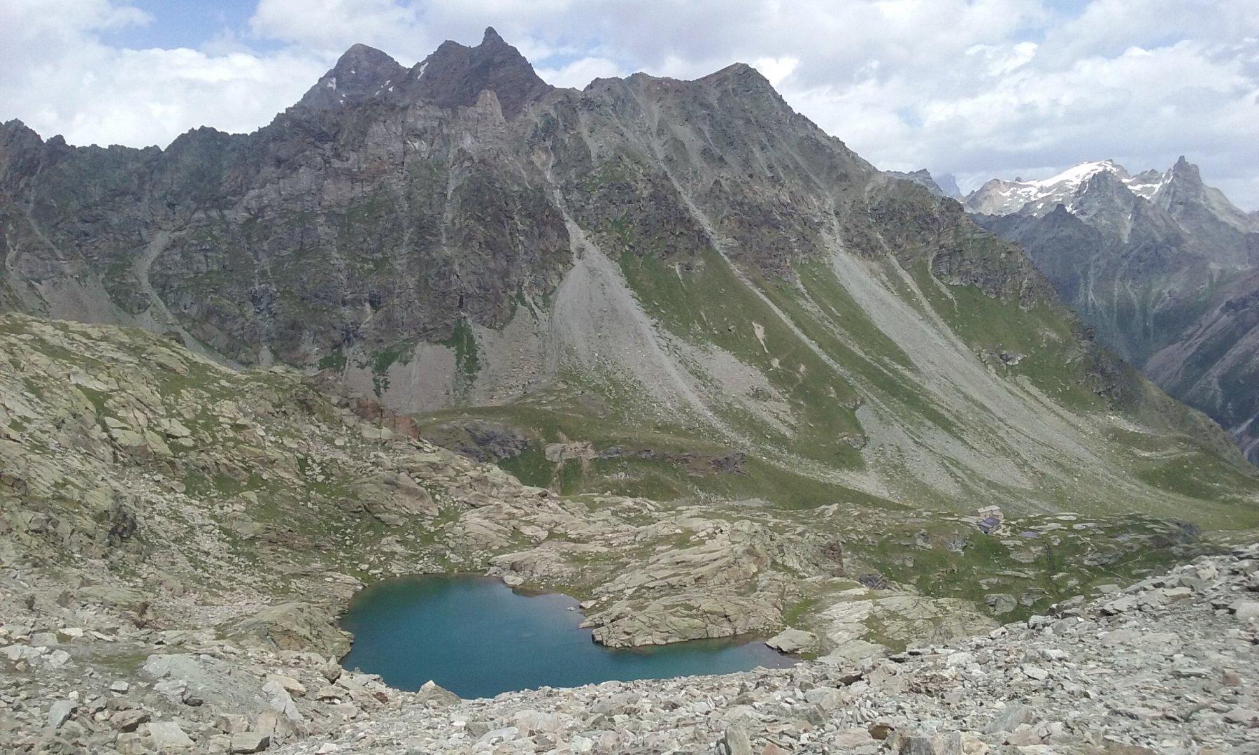 Il lago di Pisonet