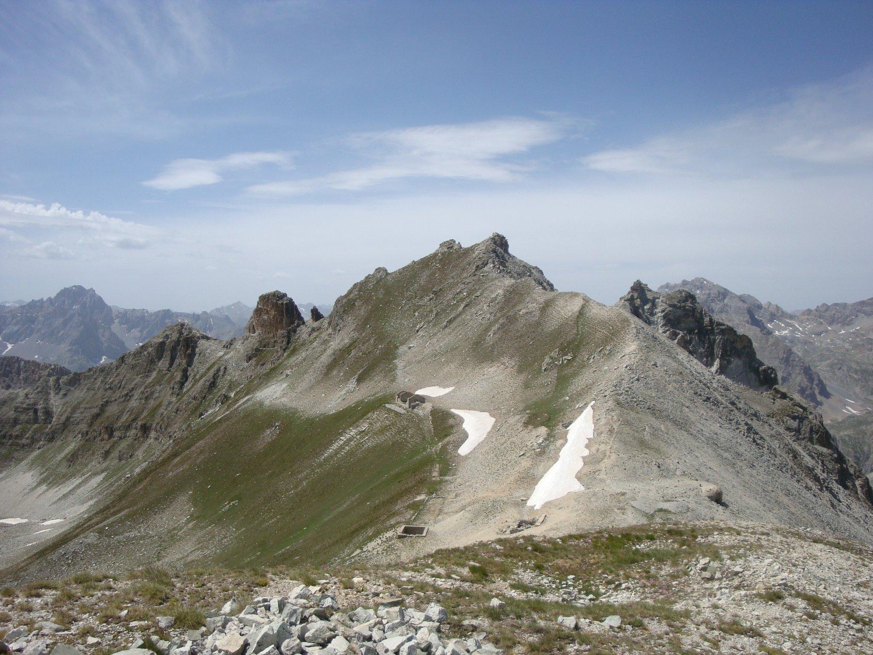 passo Lauset e monte Freide