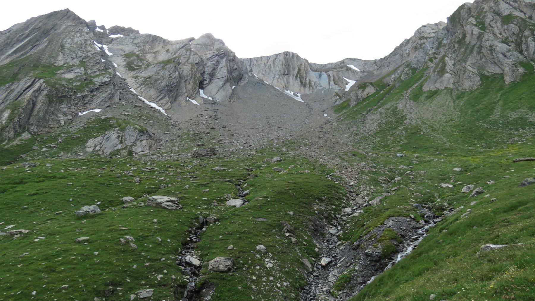 Lesache (Aiguille de) o des Sasses dal versante Est 2017-07-08