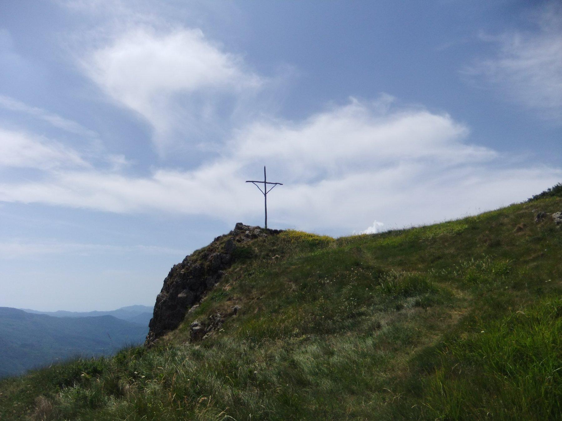 In cima al Monte Croce Martincano