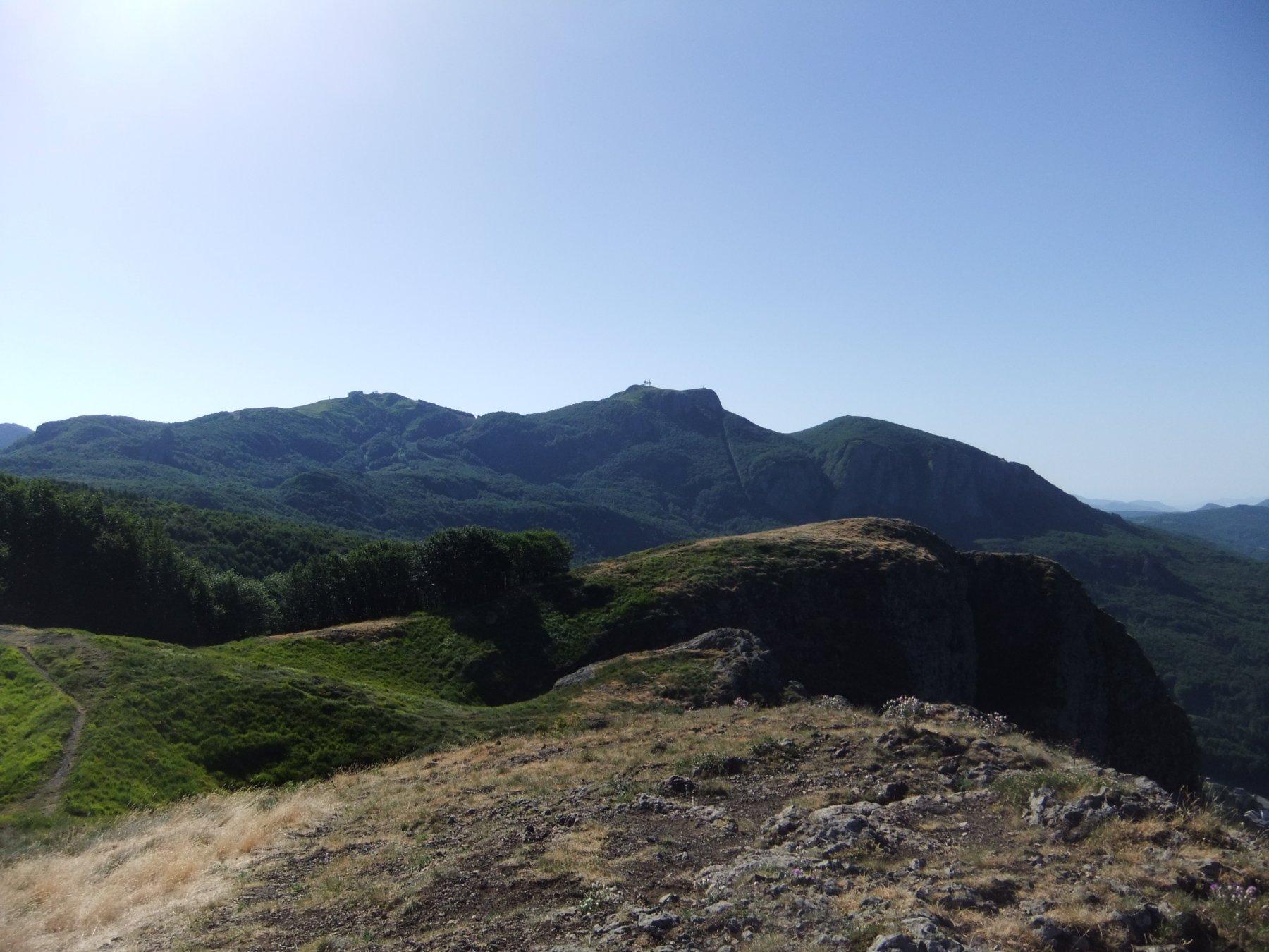 Maggiorasca (Monte) da Rocca d'Aveto, anello per Monte Roncalla, Monte Nero, Passo della Lepre 2017-07-08
