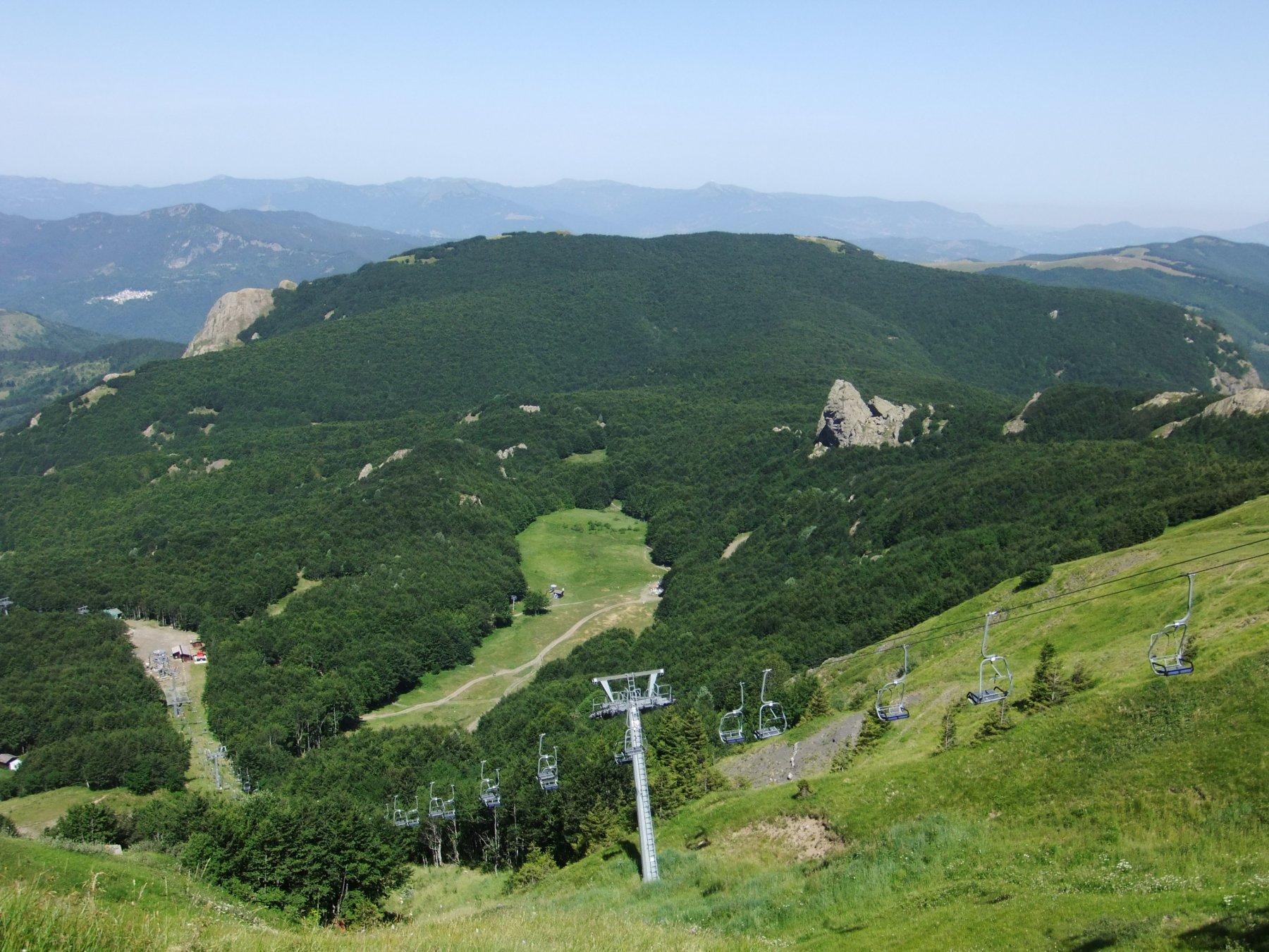 Dal Monte Bue : Groppo Rosso , Roncalla , Ciappa Liscia e Prato della Cipolla