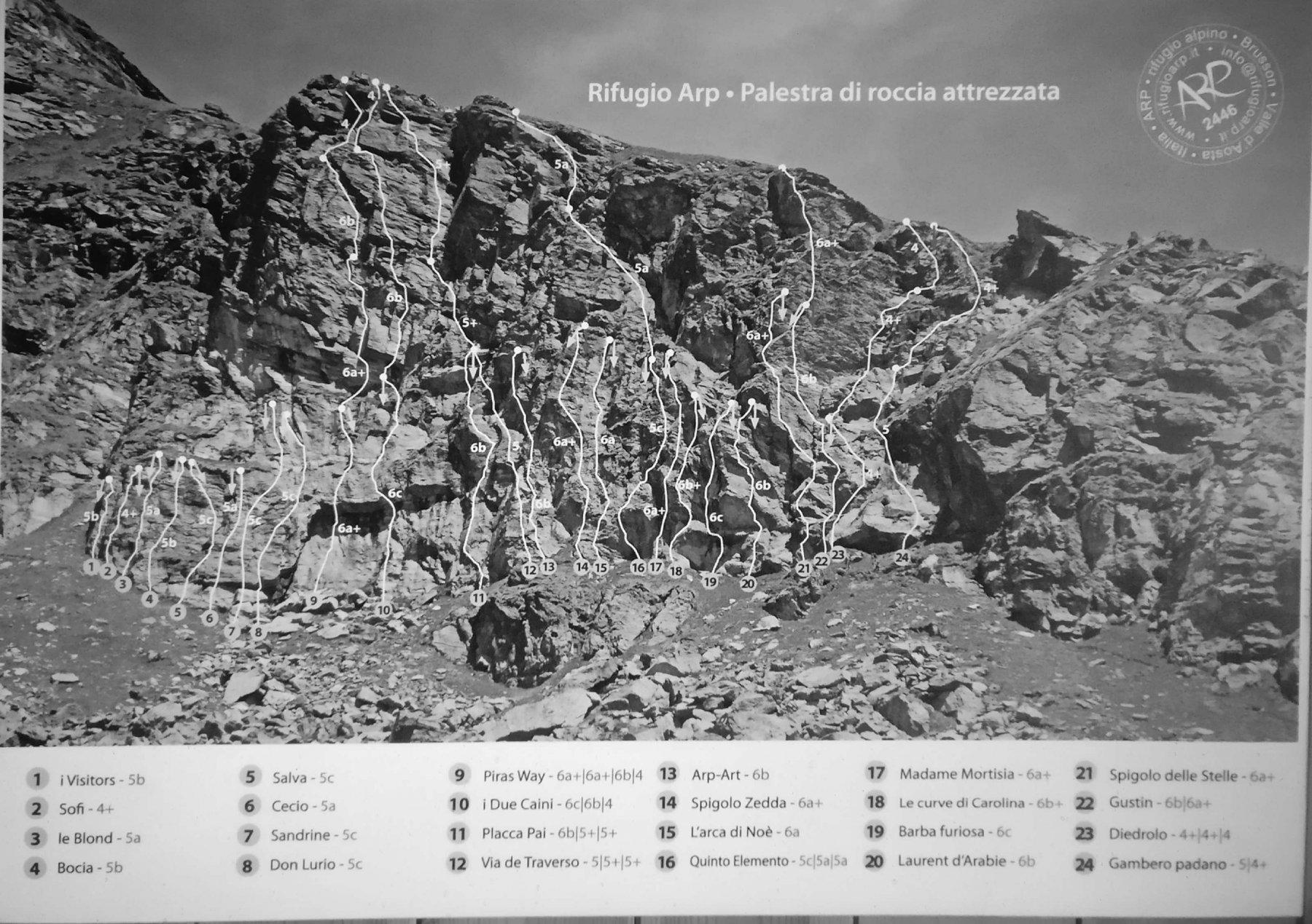 Rifugio Arp (Falesia del) 2017-07-09