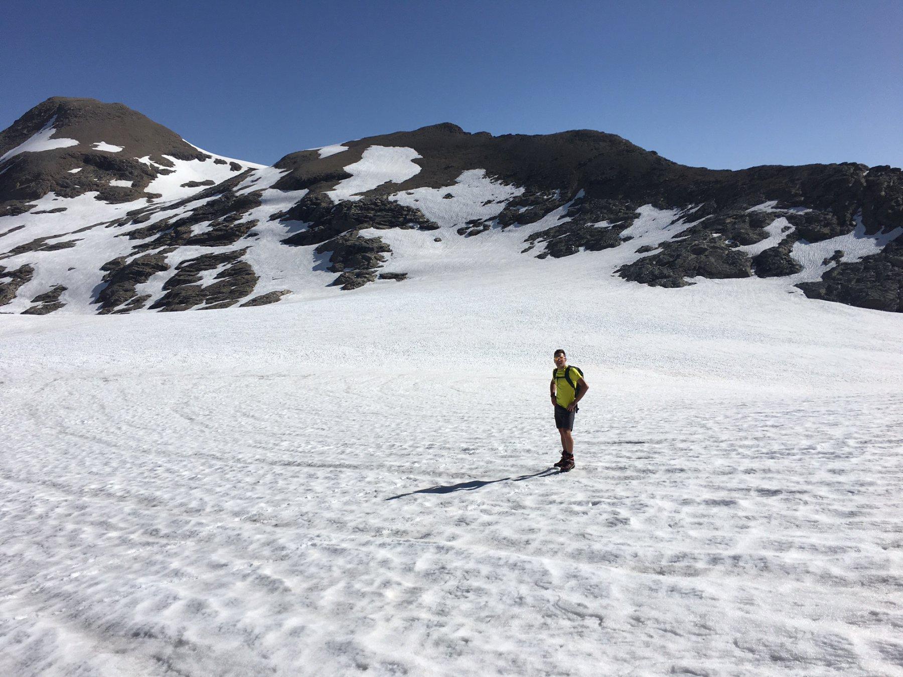 Gian sull ghiacciaio