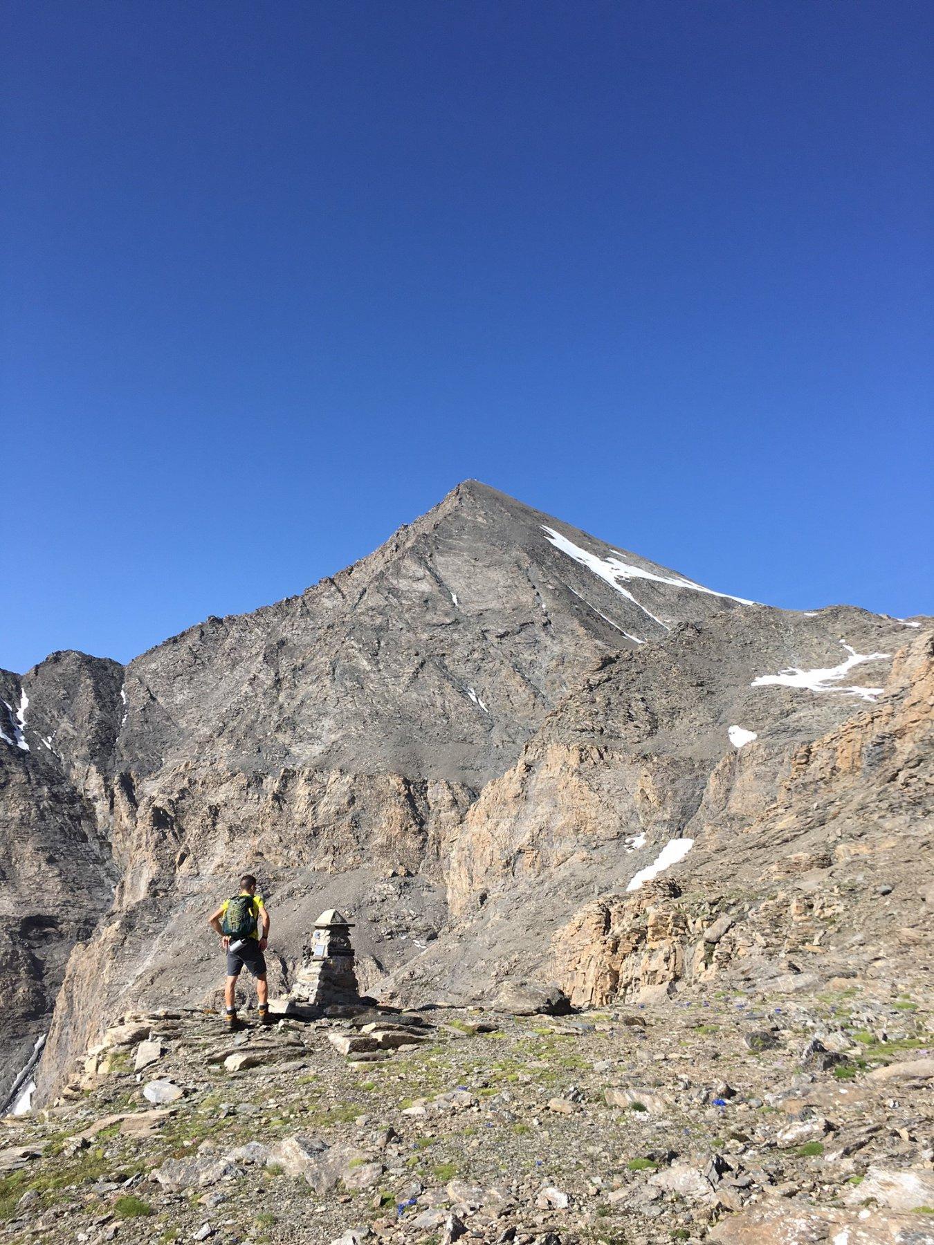 Roccia dal Col della Resta