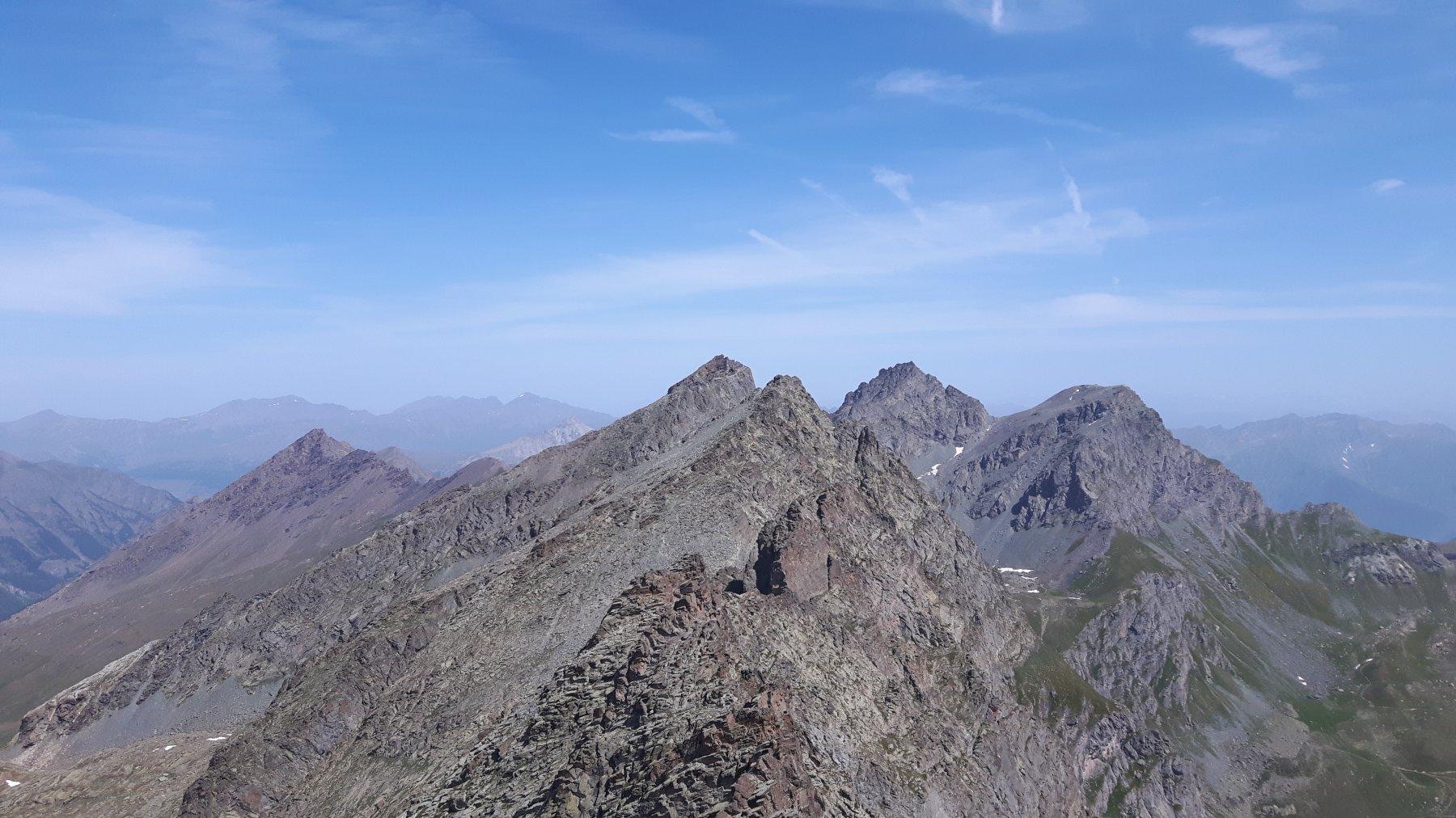 Panorama verso il Granero
