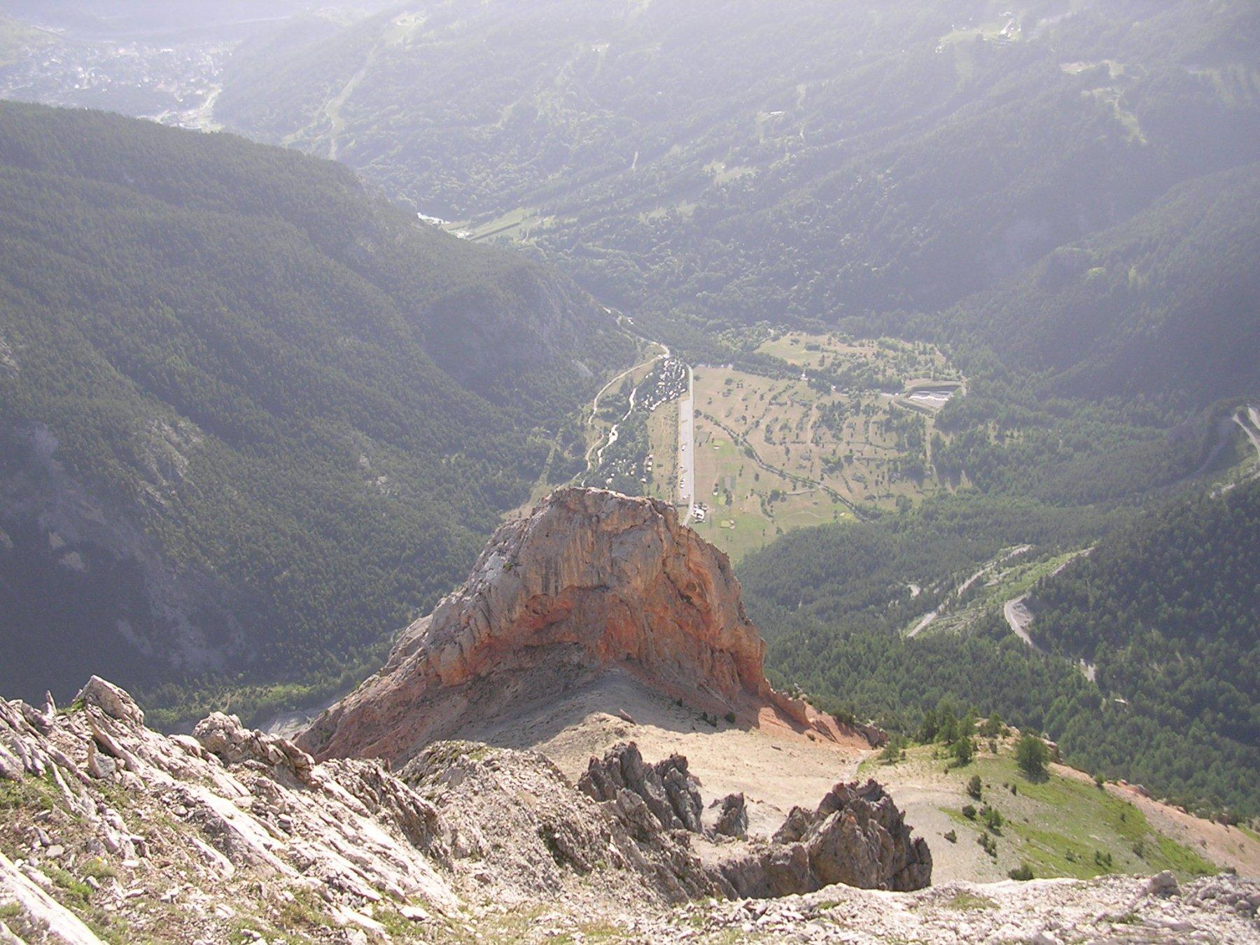 Panorama verso Pian del Colle