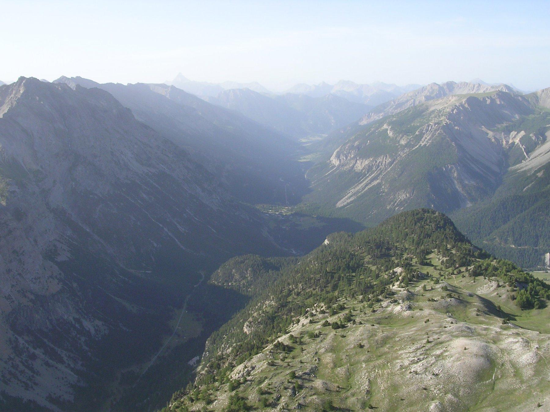 Panorama sul Colle della Scala