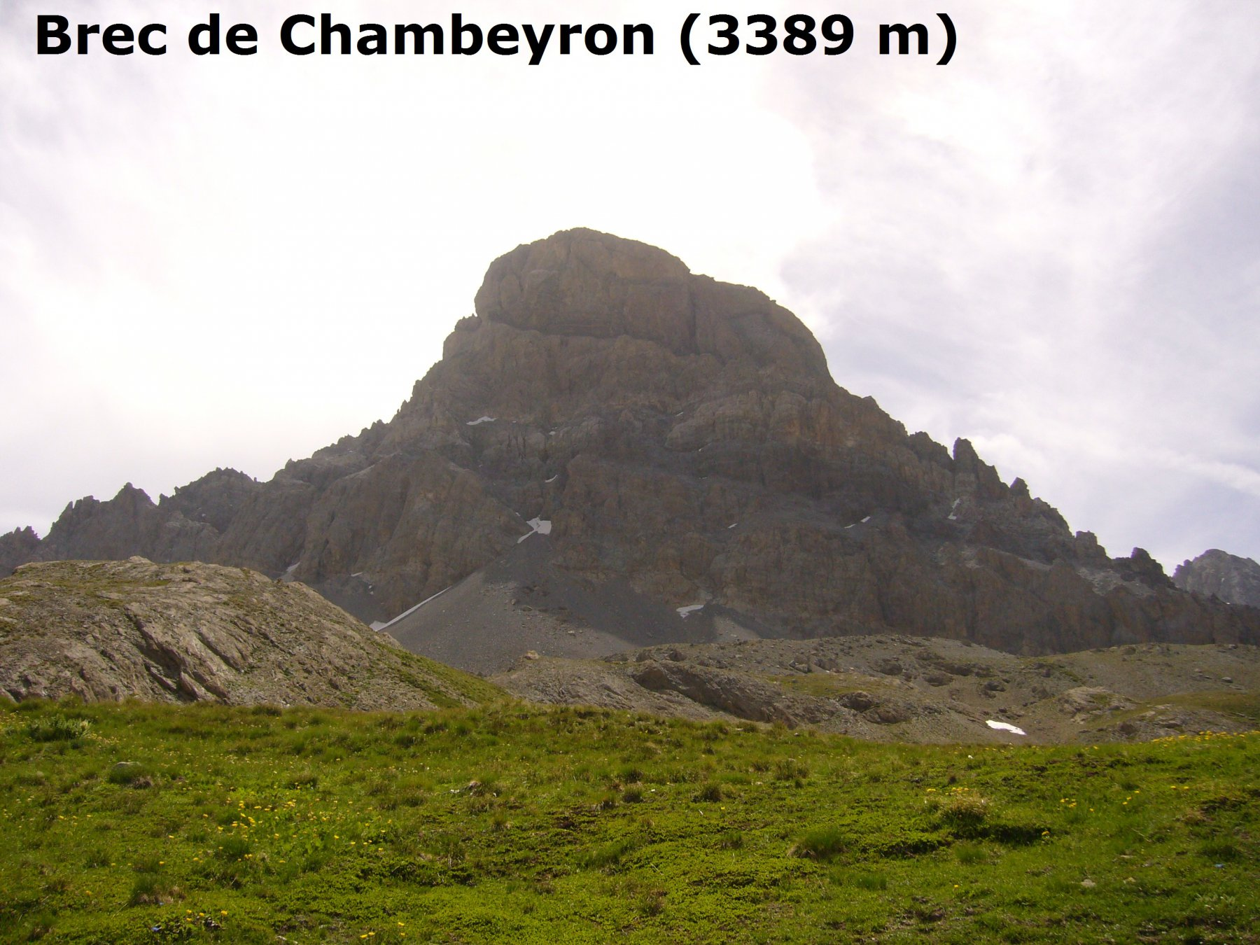brec de chambeyron