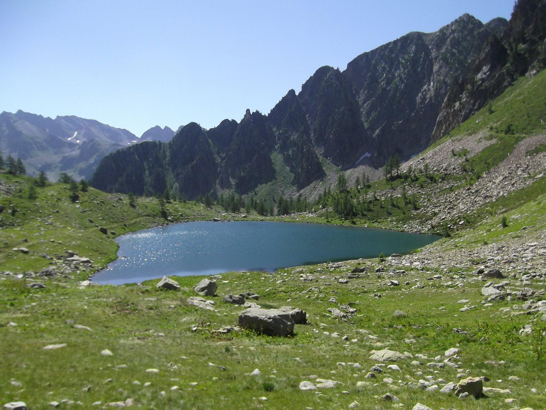 Lago Sottano d'Aver