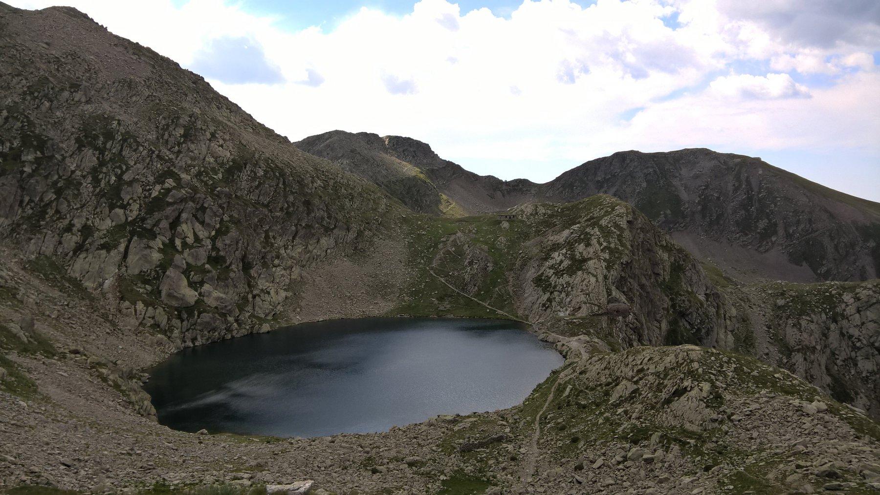 Tesina, Seboulè, Lausfer (Passi) da Sant'Anna di Vinadio, giro dei laghi di Sant'Anna 2017-07-11