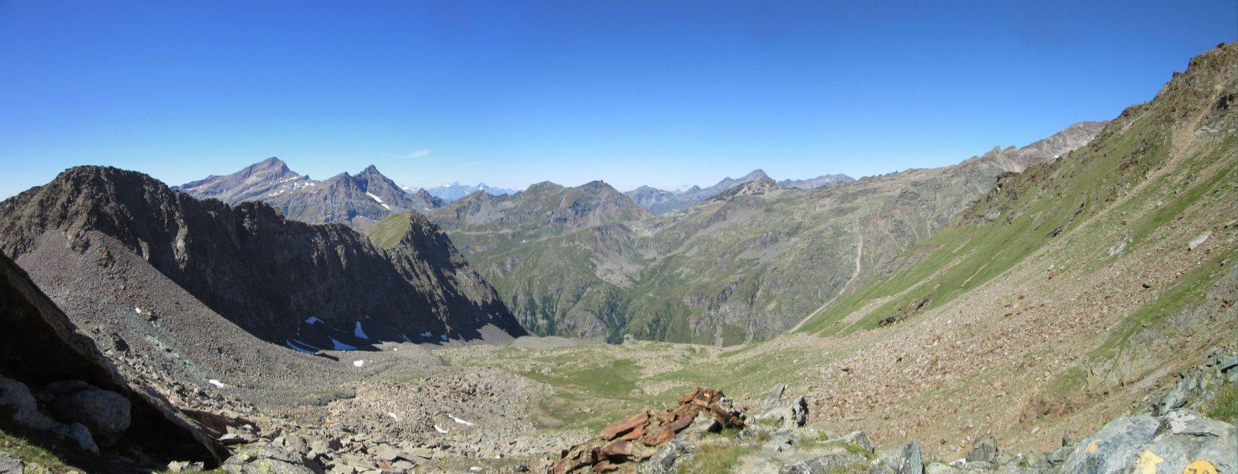 Panorama dal Colle Salza