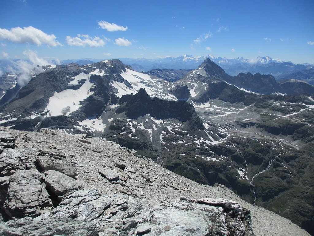 Panoramica sul Sommellier e Rognosa d'Etiache