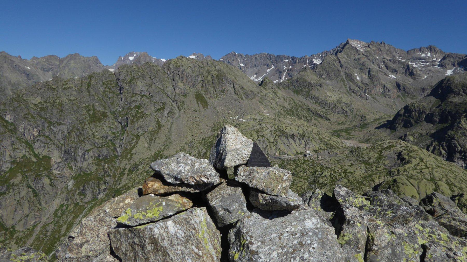Dalla vetta del Monte Destrera
