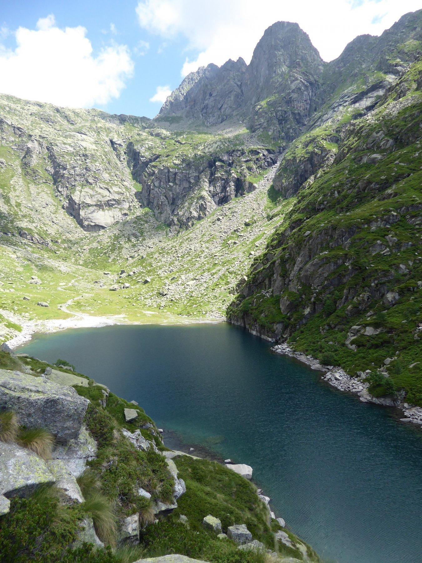 Lago della Balma e Monte Destrera