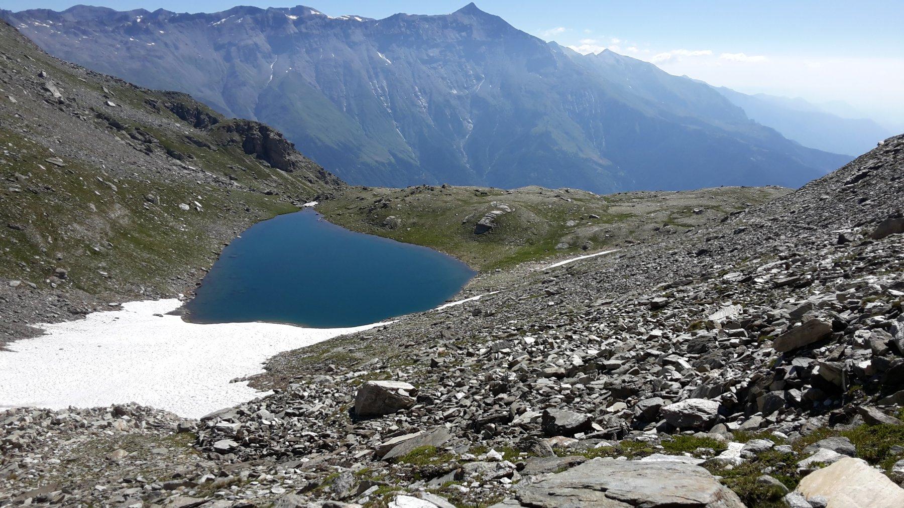 il lago della Vecchia ed il Rocciamelone