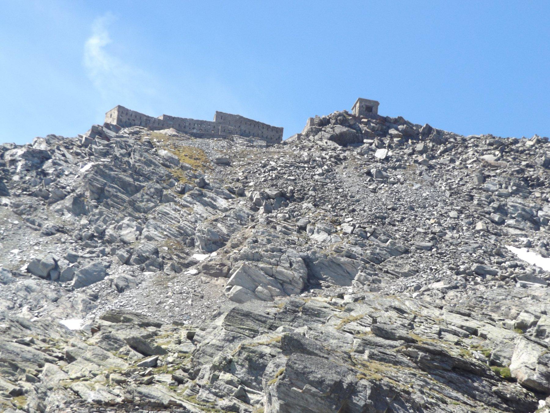 Cima del forte Malamot