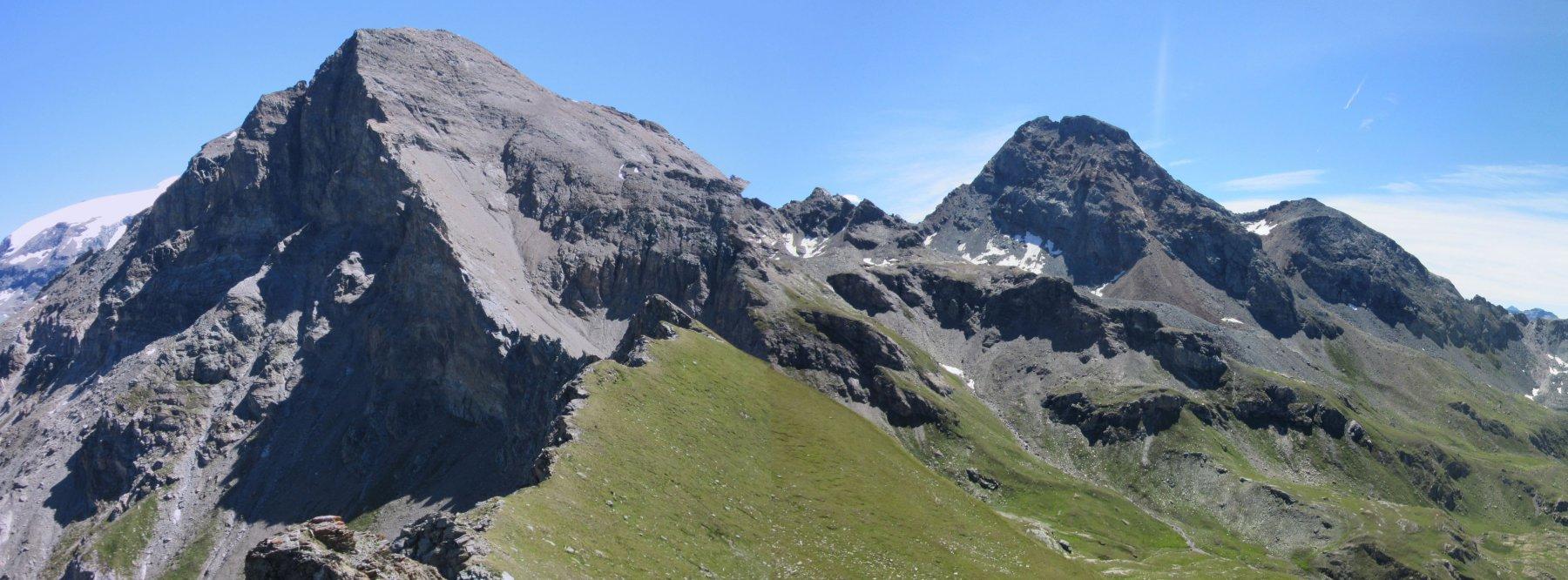 Il Monte Roisetta e i Tournalin
