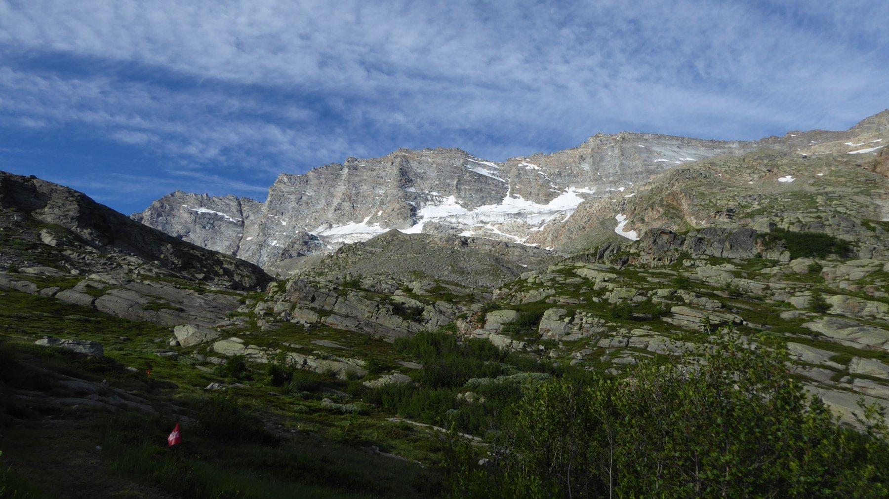 Salendo verso l'Alpe Truc