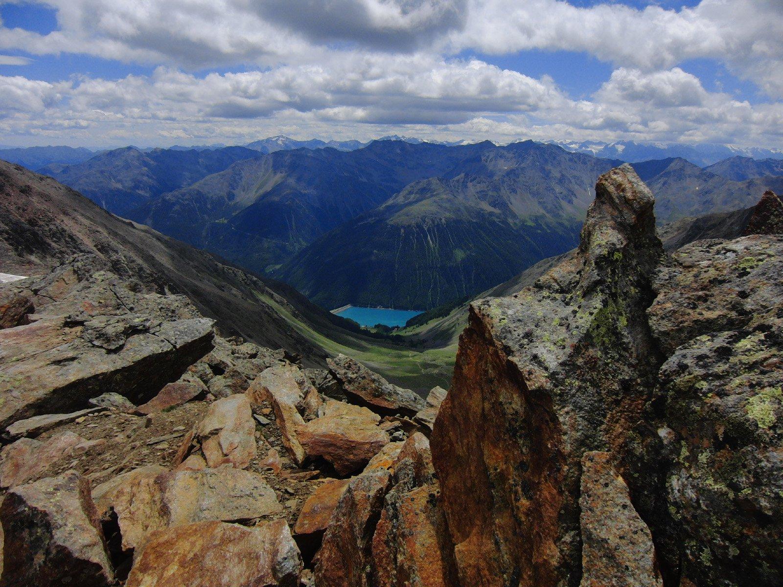 Finale (Punta di) o Finailspitze da Vernago per Giogo di Tisa e cresta NE 2017-07-15