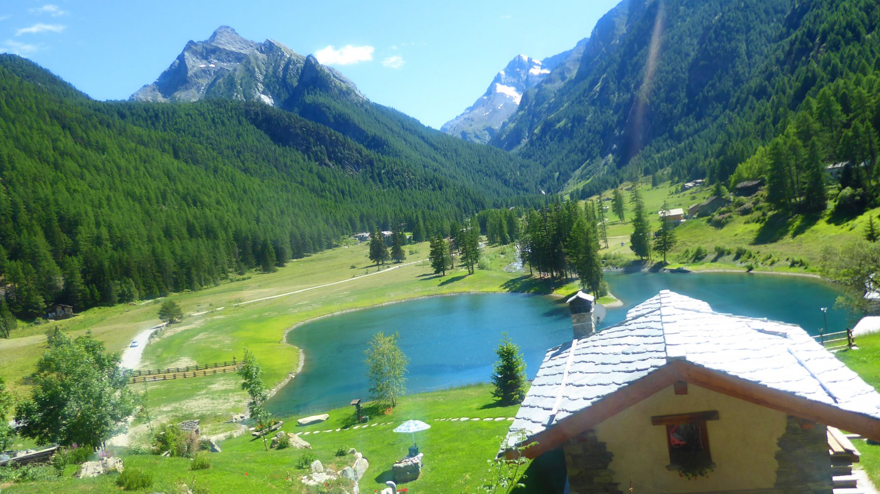 Medzove (Lago di) dalla Val Clavalitè 2017-07-15