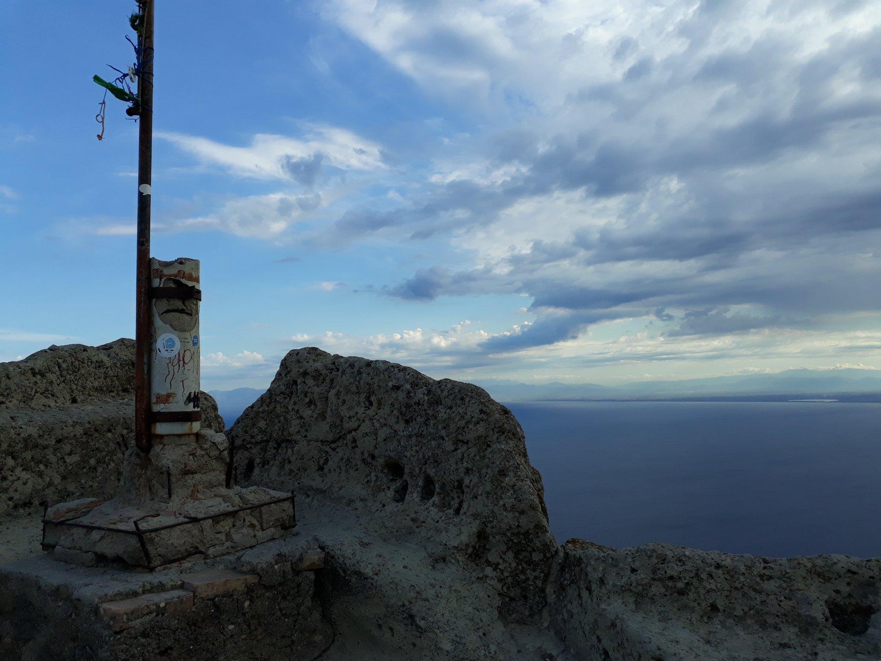 La cima del Monte Epomeo