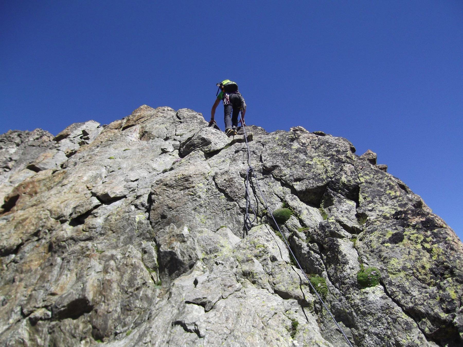 Salita di cresta per il Monte Stella (m.3262).