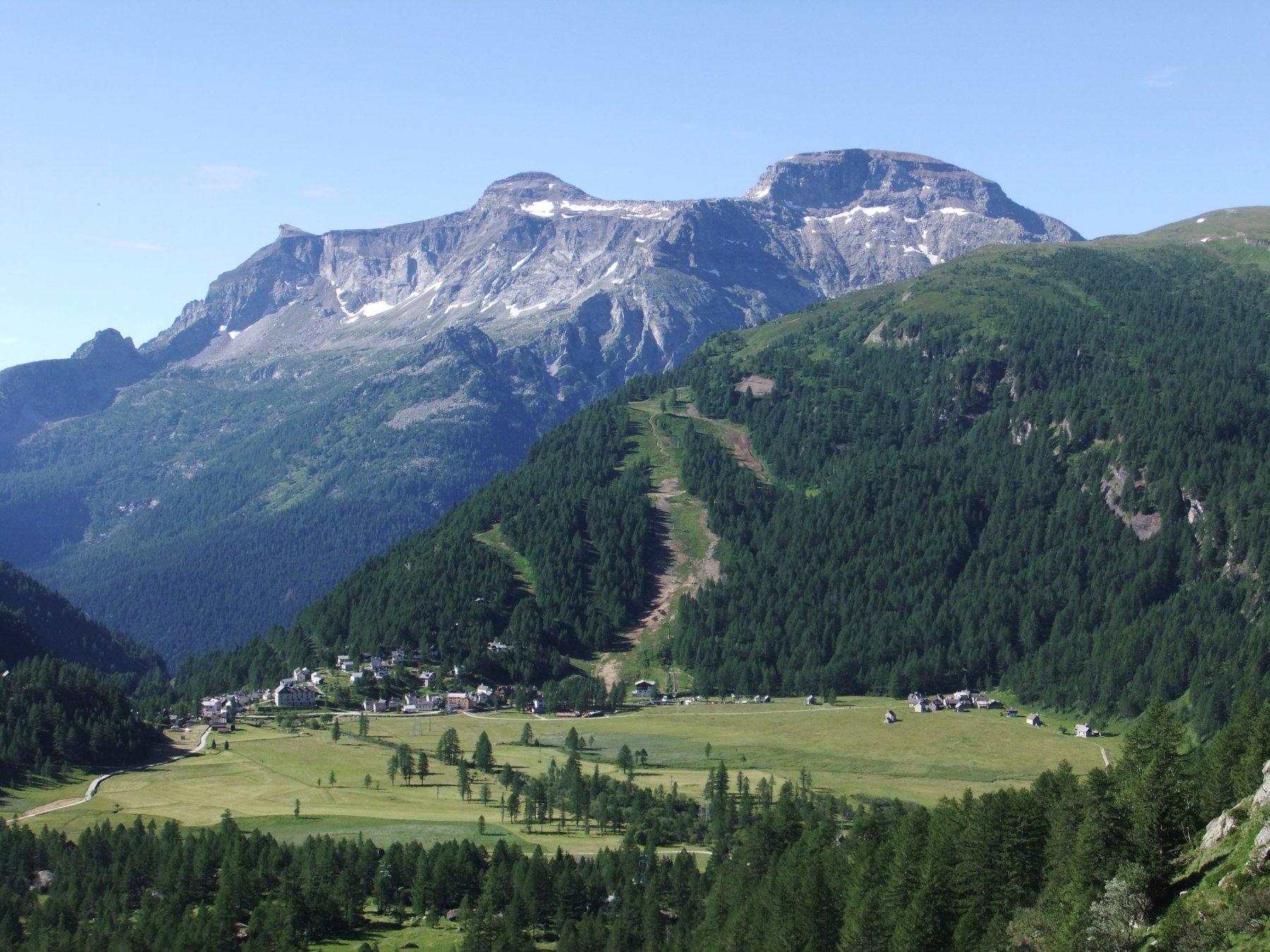 L'Alpe Devero ed il Monte Cistella