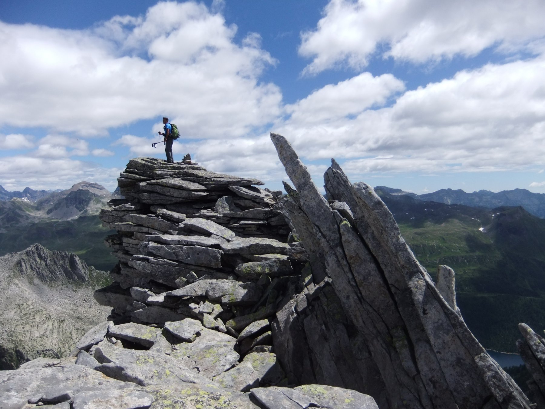 La cima sud del Geisspfadspitzen