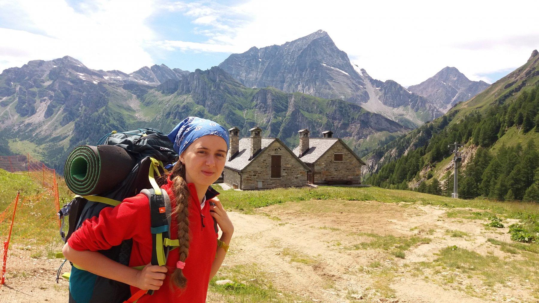 Partenza dall'alpe Ciamporino