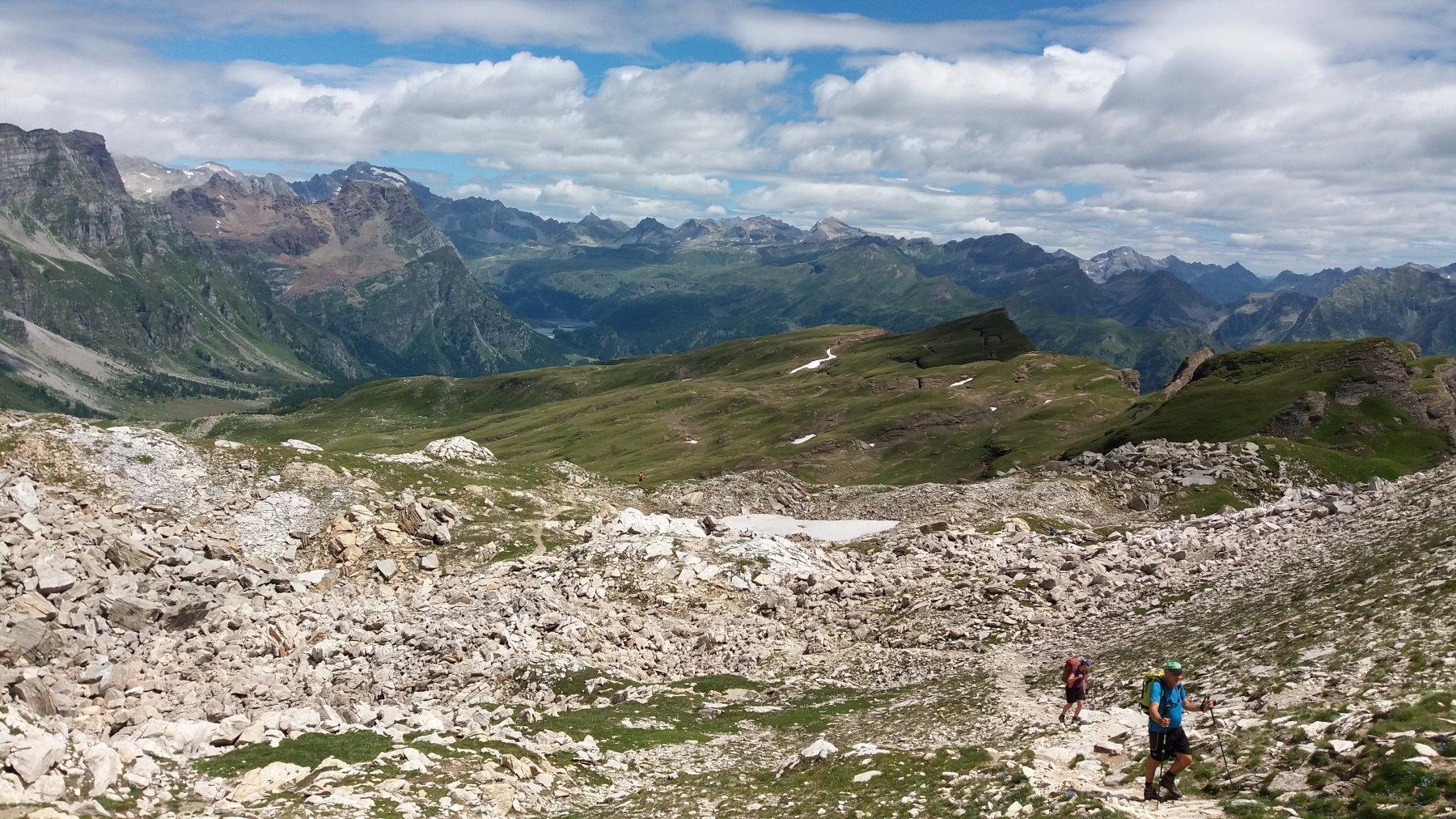 Dalla scatta d'Orogna, la valle sospesa del Devero