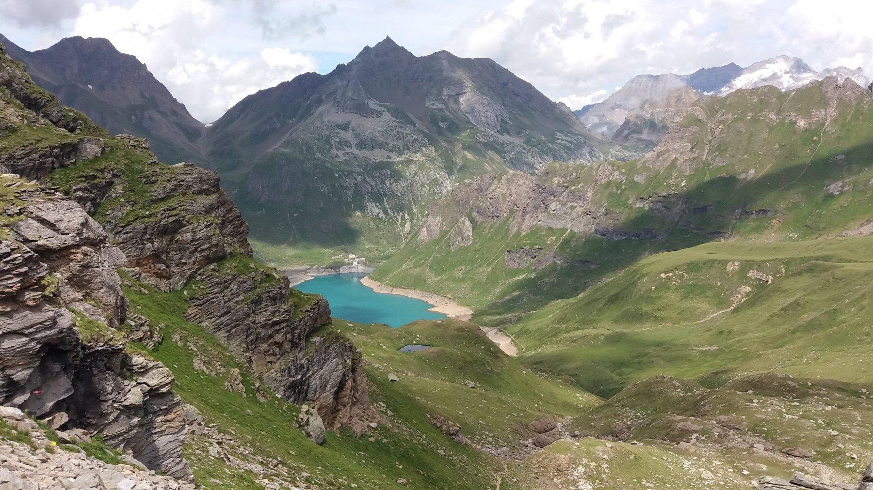 Lago Vannino dalla scatta Minoia