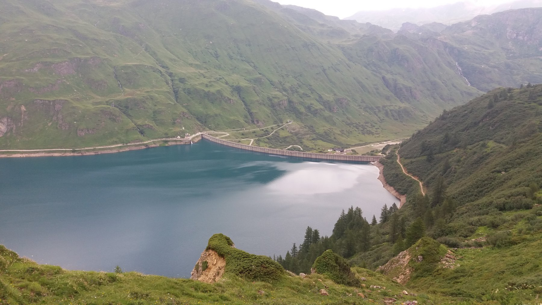 Lago di Morasco, capolinea del trekking