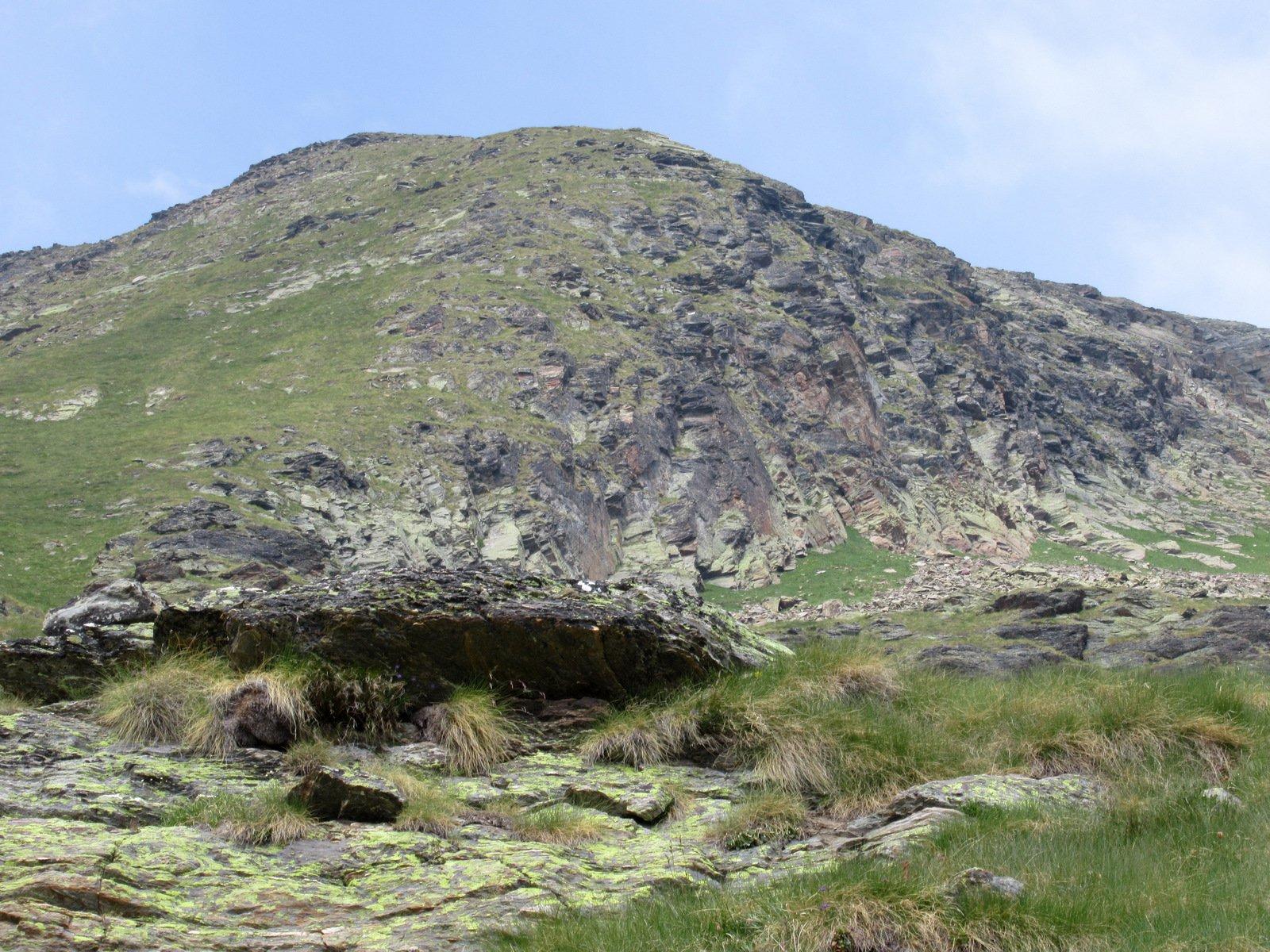 Punta della Crosatie vista salendo