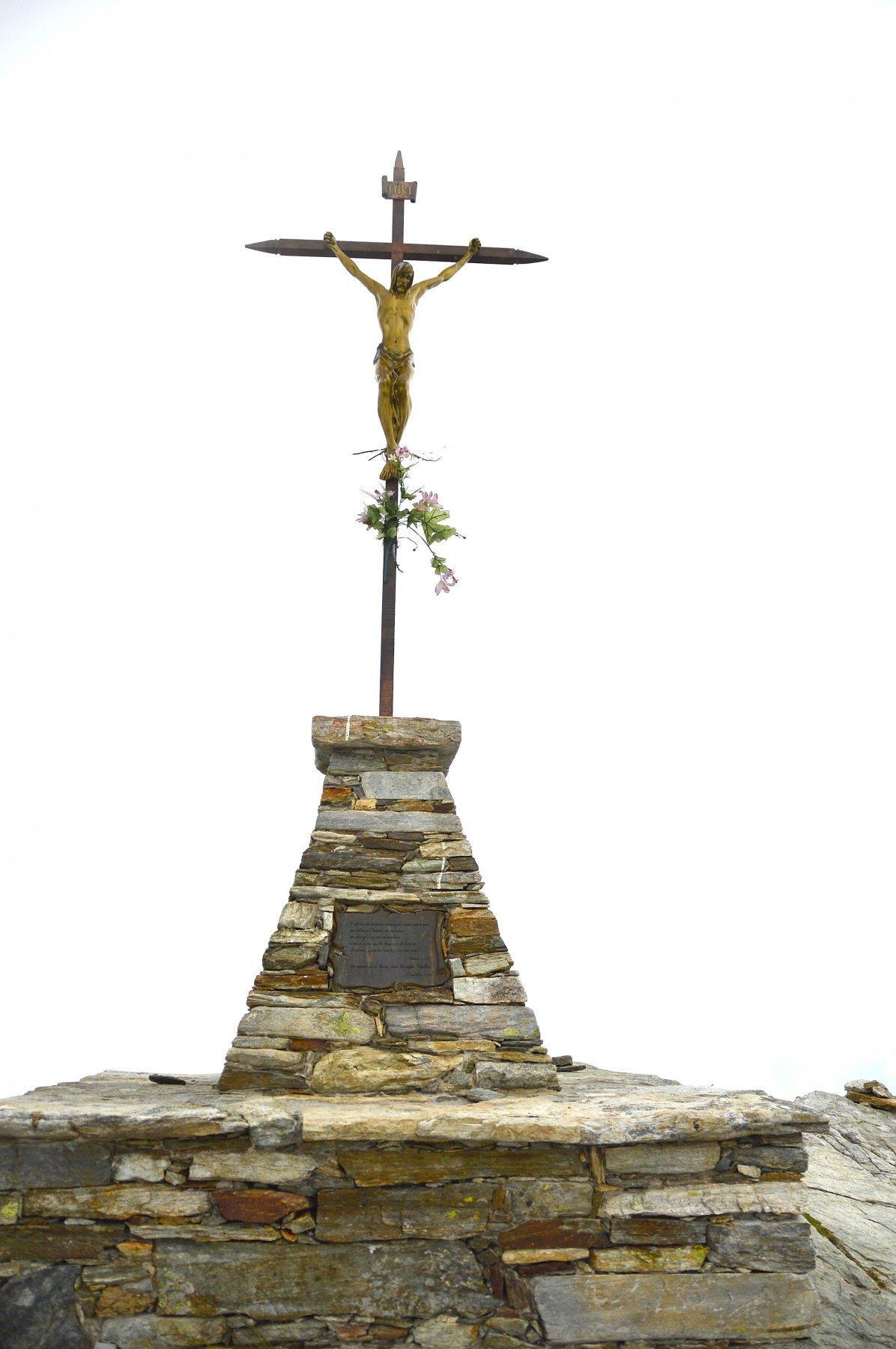 Croce di vetta con Cristo