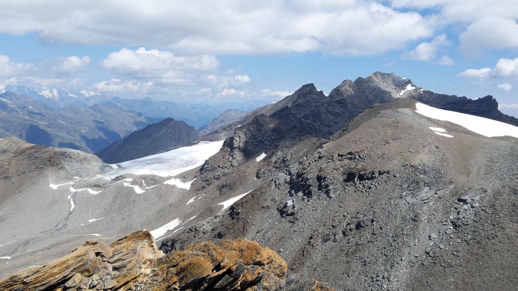 Truc Blanc e Giasson visti dalla cima