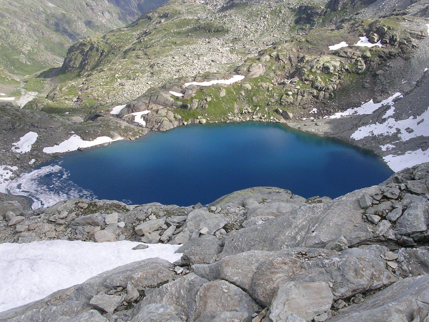Il bellissimo lago d'Ambin.