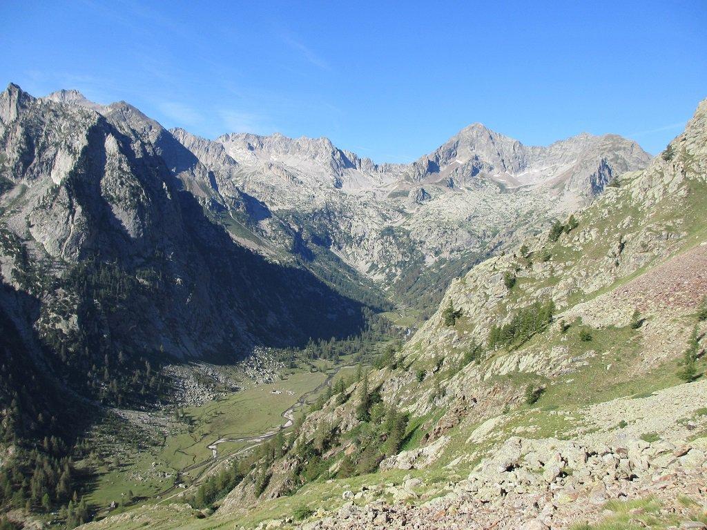 Panoramica vista salendo al colle Valmiana