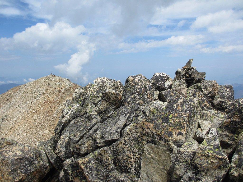 Cima Matto est vista dalla cima Centrale