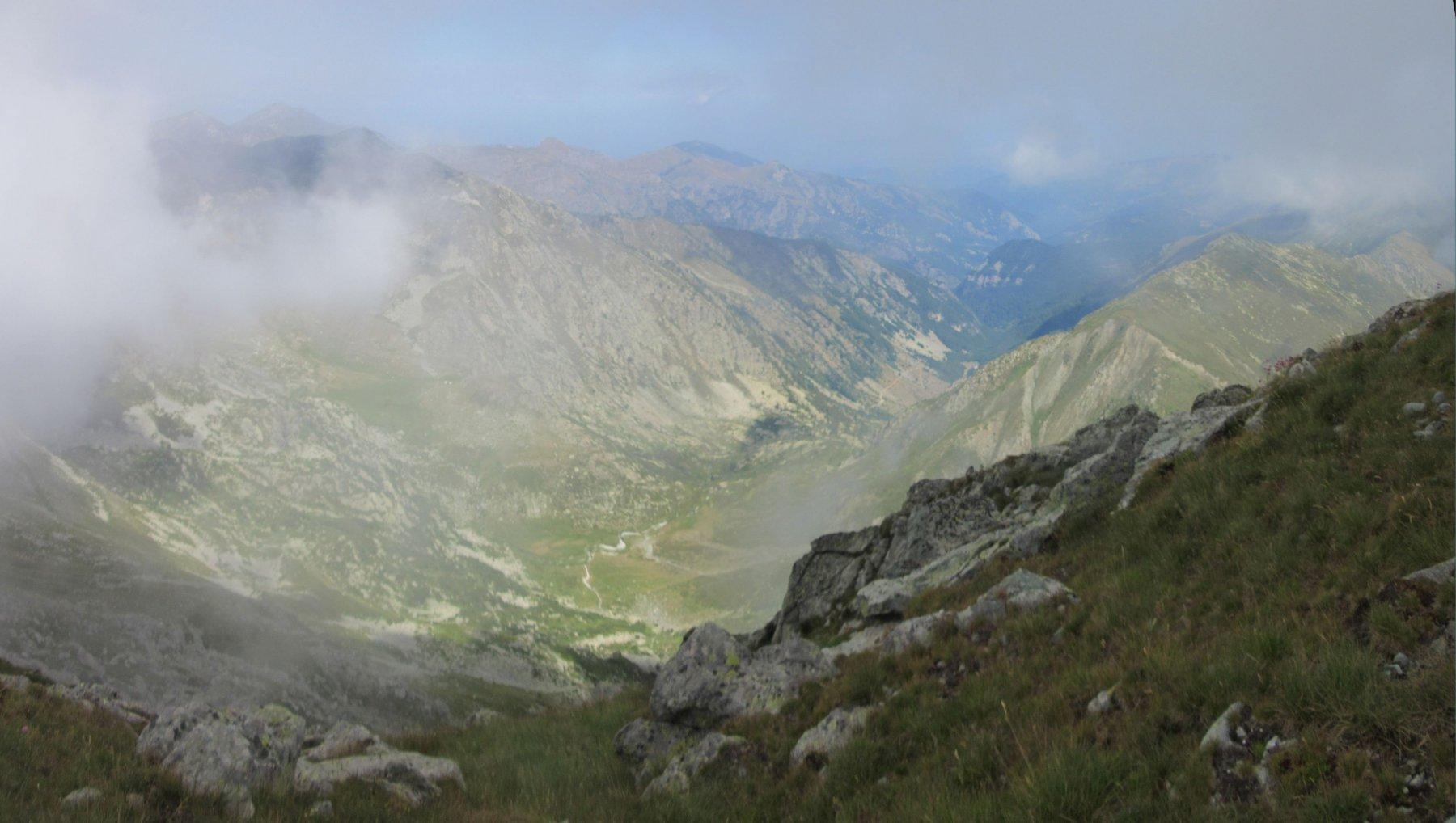 Il vallone del bivacco Cavarero prossima meta