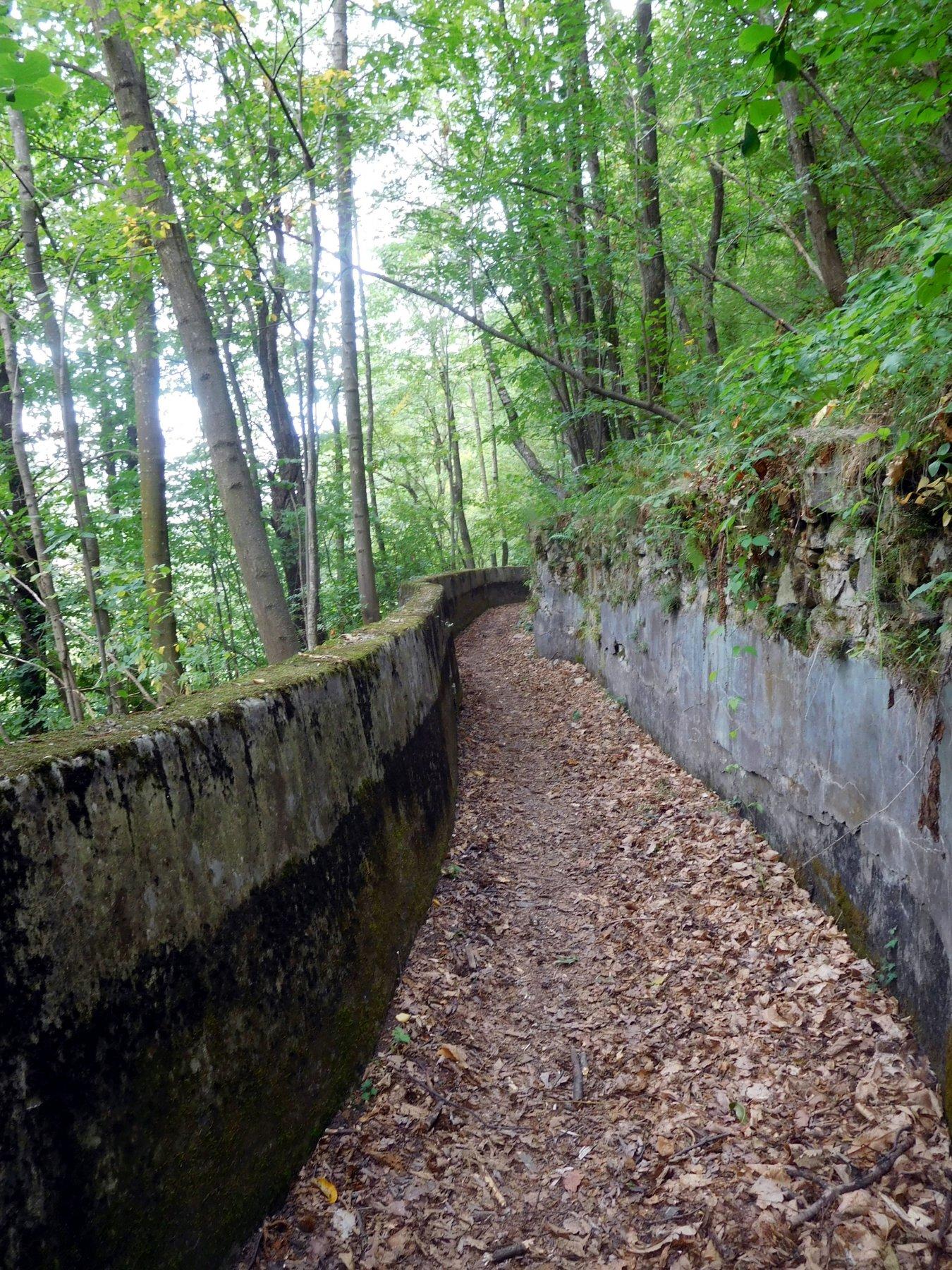 sentiero verso Vigna