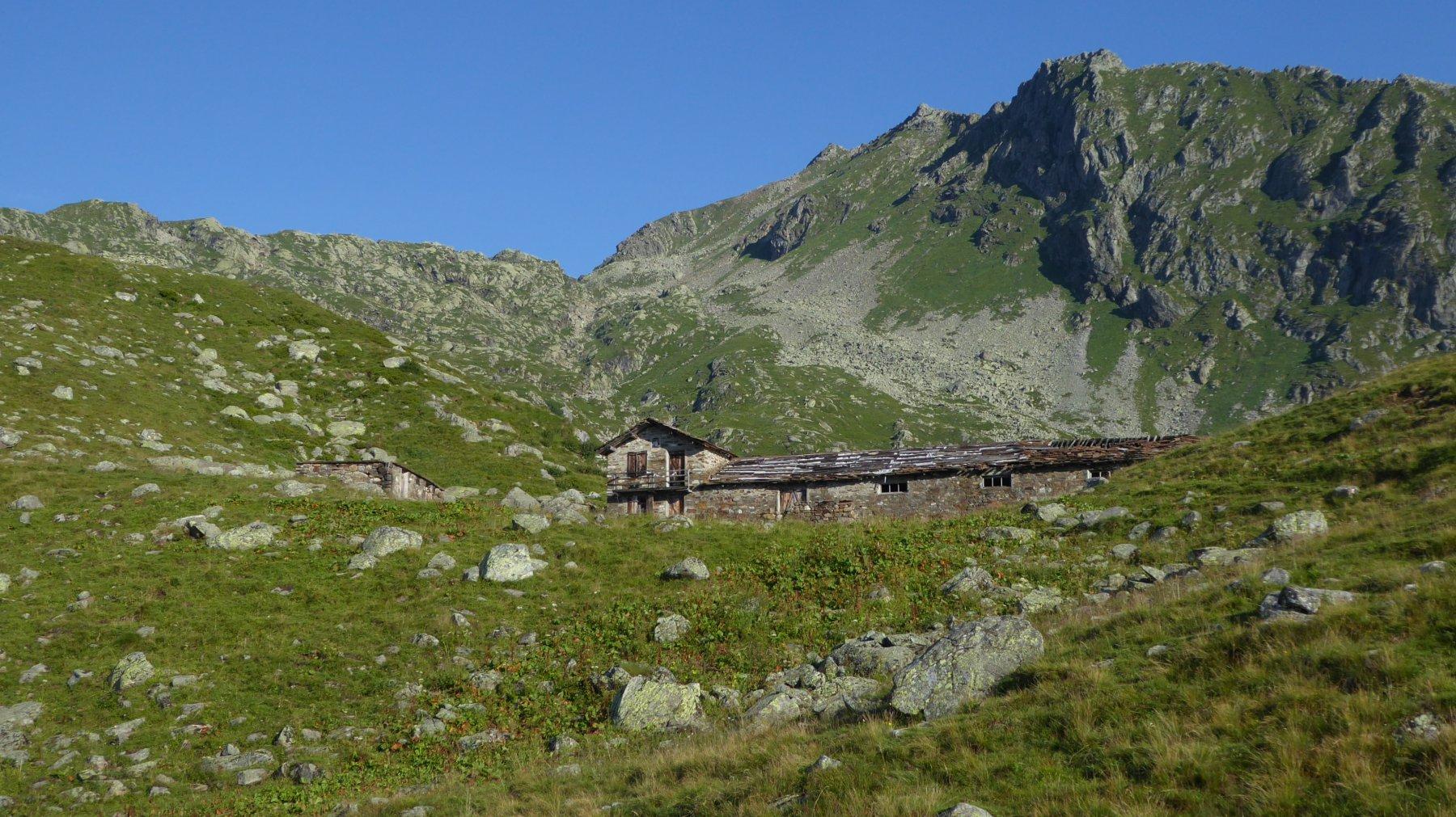 Alpe Gran Fumà e i pendii sud della Rossa