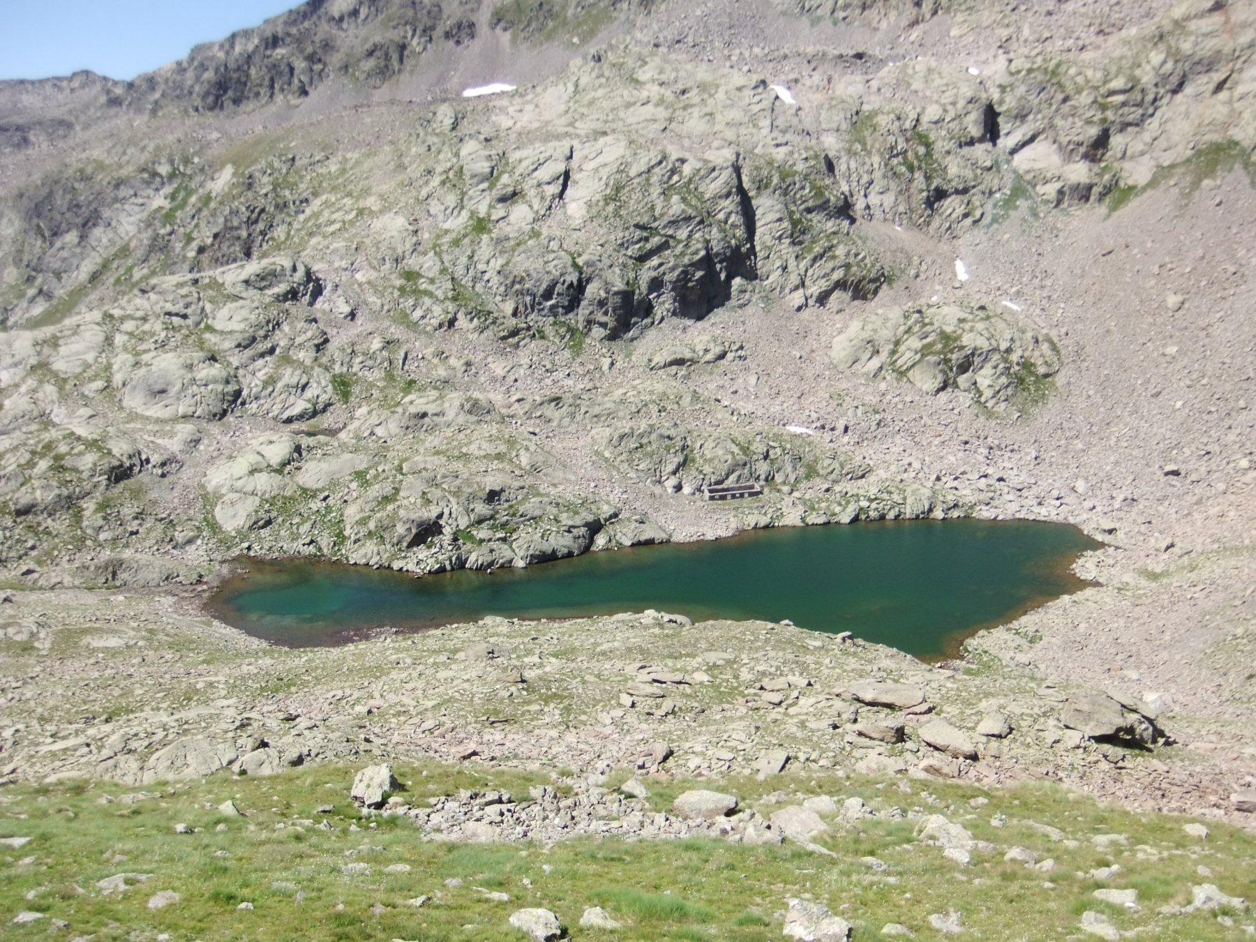 Lago Superiore del Lausfer salendo alla Gioffredo