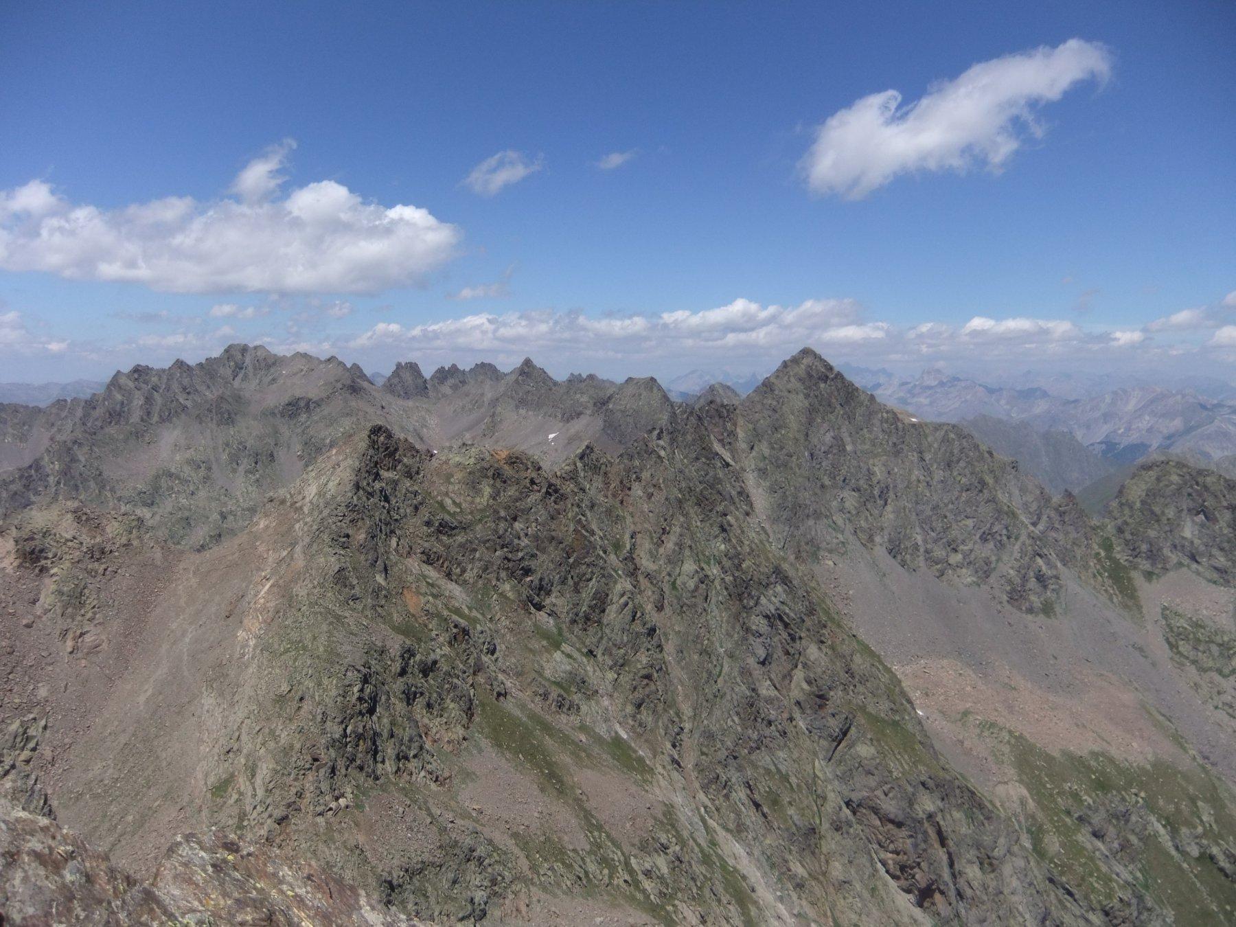 Ischiator dalla cima