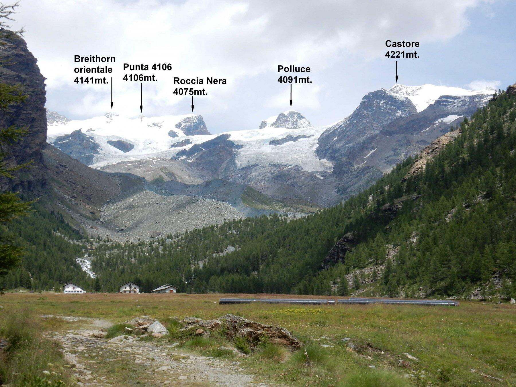 Panorama al ritorno dal Pian del Verra Inferiore.